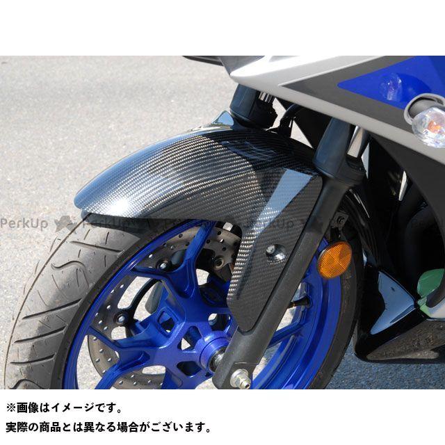 マジカルレーシング Magical Racing フェンダー 外装 マジカルレーシング MT-25 YZF-R25 フロントフェンダー 平織りカーボン製 Magical Racing