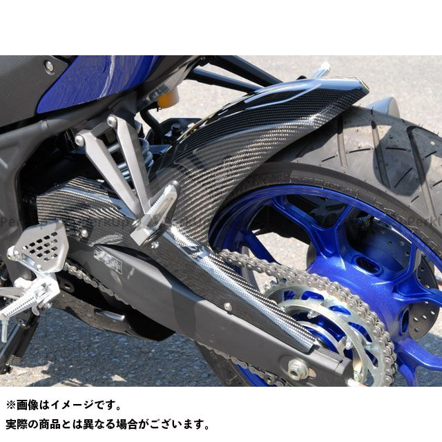 【エントリーで更にP5倍】【特価品】マジカルレーシング MT-25 YZF-R25 リアフェンダー 材質:FRP製・黒 Magical Racing