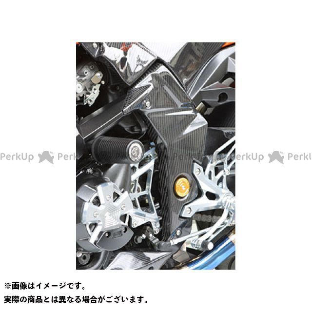 【エントリーで更にP5倍】【特価品】マジカルレーシング Z1000 フレームカバー 左右セット 材質:綾織りカーボン製 Magical Racing