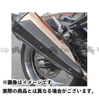 【特価品】マジカルレーシング Z1000 サイレンサーガード 左右セット 材質:綾織りカーボン製 Magical Racing