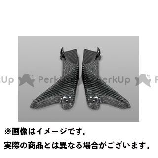 【特価品】マジカルレーシング Z1000 フロントサイドカバー 材質:綾織りカーボン製 Magical Racing
