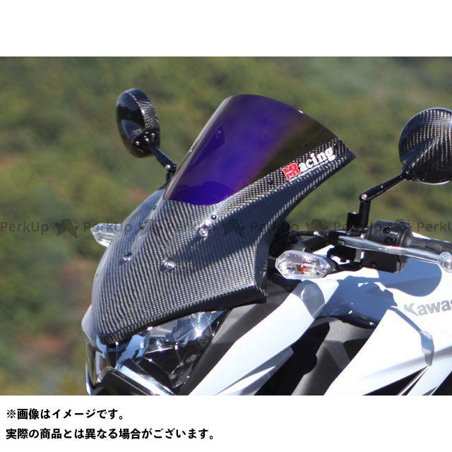 送料無料 マジカルレーシング Z250 スクリーン関連パーツ バイザースクリーン 平織りカーボン製 スモーク