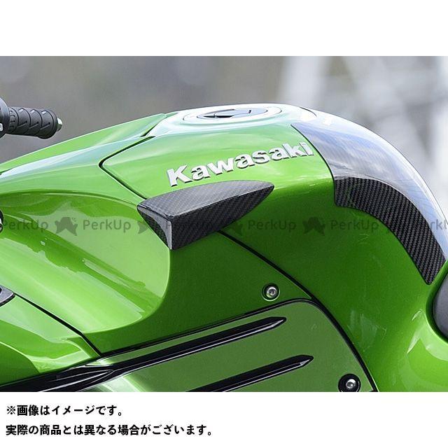 【エントリーで最大P21倍】マジカルレーシング ニンジャZX-14R タンクサイドパット(左右セット) 材質:綾織りカーボン製 Magical Racing