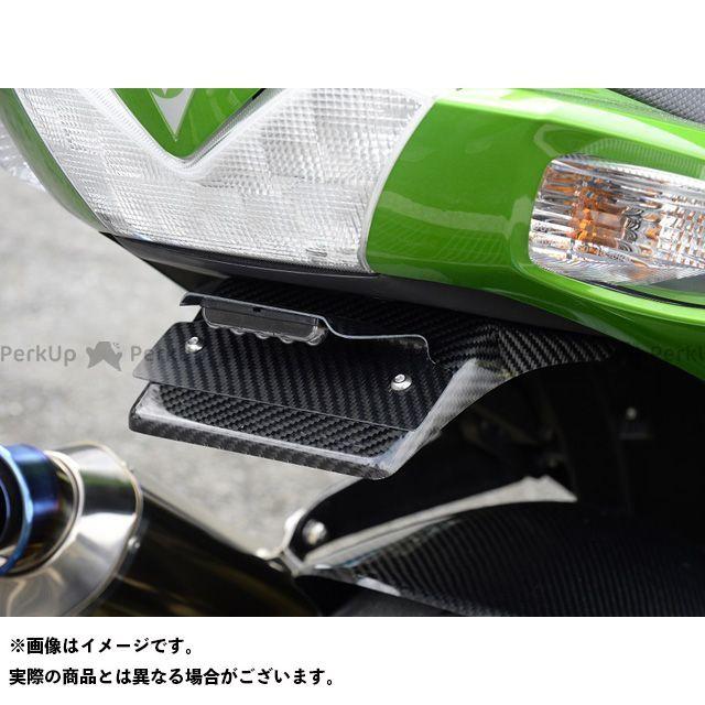 【特価品】マジカルレーシング ニンジャZX-14R フェンダーレスキット(ライセンスプレート灯キット付) 材質:綾織りカーボン製 Magical Racing