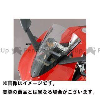 【特価品】マジカルレーシング 1199パニガーレ カーボントリムスクリーン 材質:平織りカーボン製 カラー:スモーク Magical Racing