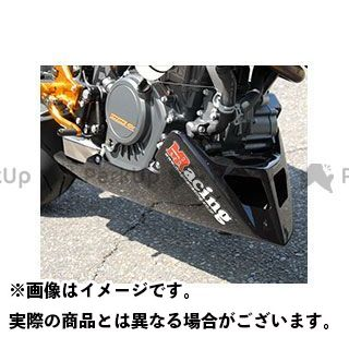 マジカルレーシング 125デューク 200デューク アンダーカウル FRP製・白