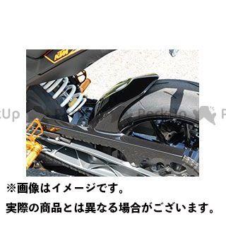 【特価品】マジカルレーシング 125デューク 200デューク 390デューク リアフェンダー 材質:FRP製・白 Magical Racing