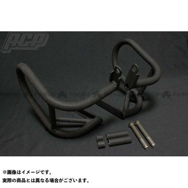 【エントリーでポイント10倍】 ACP GS400 GS400L GS400 チヂミ塗装 エンジンガード 黒