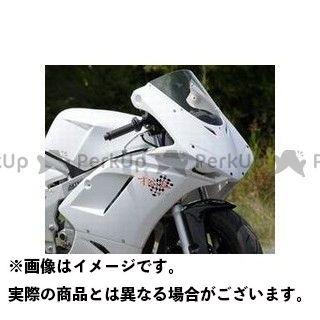 送料無料 才谷屋 NSR50 NSR80 カウル・エアロ 1098typeハーフカウル/レース白ゲル