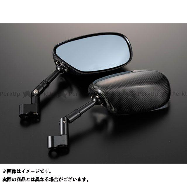 マジカルレーシング 汎用 NK-1ミラー・タイプ1ヘッド ロングエルボステム ヘッド素材:綾織りカーボン製 ステムカラー:シルバー タイプ:逆ネジ8mm/逆ネジ8mm Magical Racing