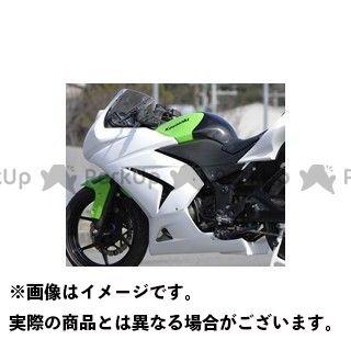 送料無料 才谷屋 ニンジャ250R カウル・エアロ フルカウル/レース ライムグリーンゲル