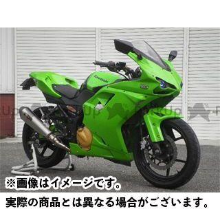 送料無料 才谷屋 ニンジャ250R カウル・エアロ フルカウル ストリート type1098 白ゲル