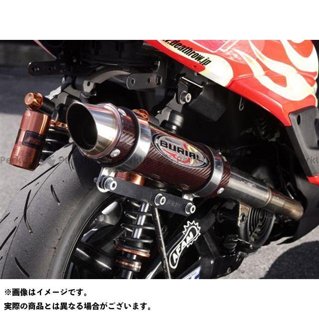 ベリアル シグナスX GPバージョンマフラーマークIII(B/Rカーボン) BURIAL