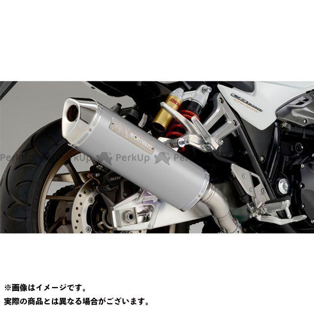 モリワキ CB1300スーパーフォア(CB1300SF) MX スリップオンマフラー タイプ:WT(ホワイトチタン) MORIWAKI