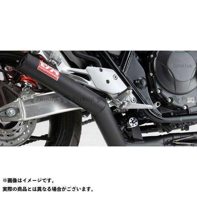 モリワキ CB400スーパーフォア(CB400SF) ONE-PIECE マフラー タイプ:ブラック MORIWAKI