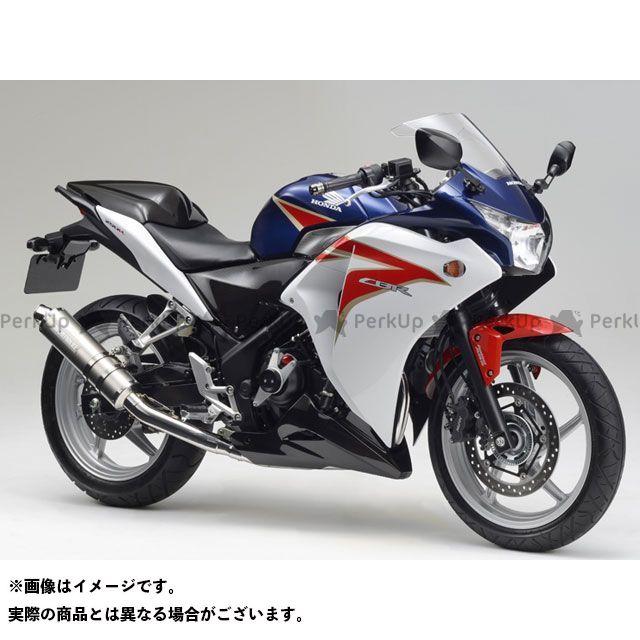 モリワキ CBR250R ZERO SS スリップオンマフラー タイプ:WT(ホワイトチタン) MORIWAKI