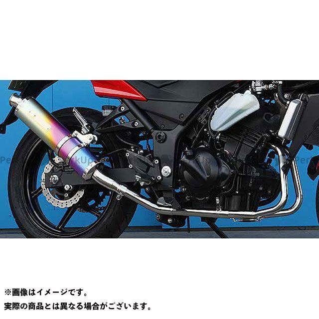 【無料雑誌付き】モリワキ ニンジャ250R ZERO マフラー タイプ:ANO(アノダイズドチタン) MORIWAKI
