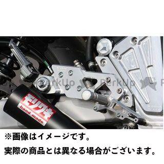 モリワキ ゼファー1100 バックステップ関連パーツ バックステップキット