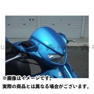 才谷屋 アドレスV125 フロントフェイスマスク カラー:未塗装 才谷屋ファクトリー