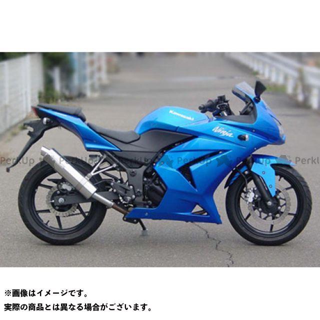 【無料雑誌付き】スーパーバイク ニンジャ250 Ninja250 アルミスリップオンマフラー 仕様:アルミマフラーステー付き SuperBike