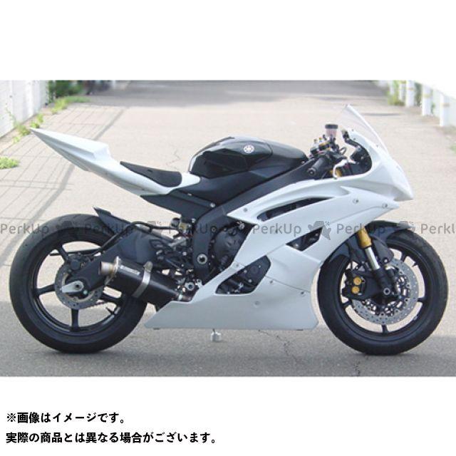スーパーバイク YZF-R6 07-08 YZF-R6 スリップオンマフラー(カーボン/チタン) SuperBike