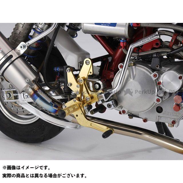 【エントリーで更にP5倍】オーバーレーシング モンキー バックステップ レーシングタイプ ディスク カラー:ゴールド OVER RACING