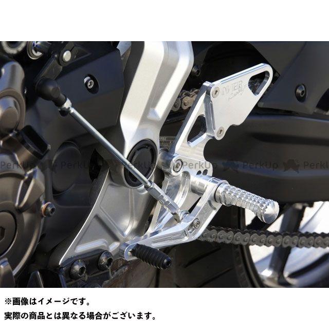 最も完璧な 送料無料 シルバー 4ポジション オーバーレーシング MT-07 バックステップ関連パーツ バックステップ バックステップ 4ポジション シルバー, 鮮一:576fdd7f --- canoncity.azurewebsites.net