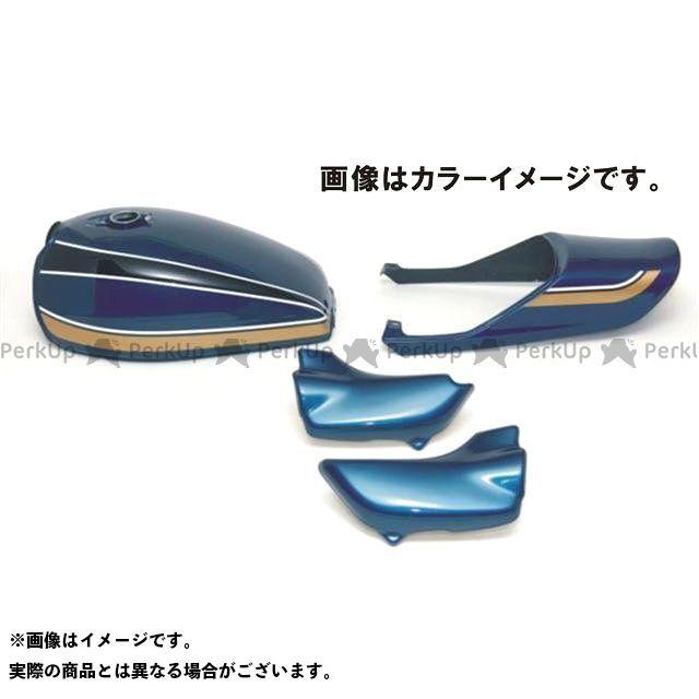 ドレミ ゼファー ノーマルタンクキャップ用 スチールタンクセット 青玉虫カラー