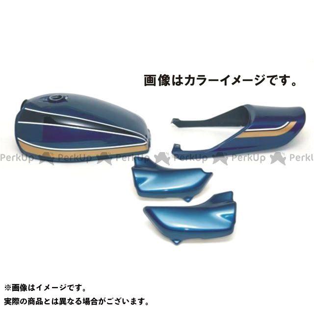ドレミ ゼファー カイ ノーマルタンクキャップ用 スチールタンクセット カラー:青玉虫カラー DOREMI COLLECTION