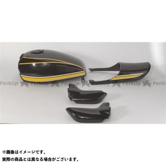 ドレミ ゼファー750 ゼファー750RS スチールタンクセット カラー:黄タイガーカラー DOREMI COLLECTION