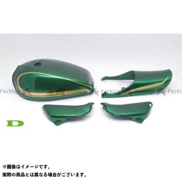 ドレミ ゼファー1100 ゼファー1100用 鉄タンクSet D1カラー カラー:グリーン DOREMI COLLECTION