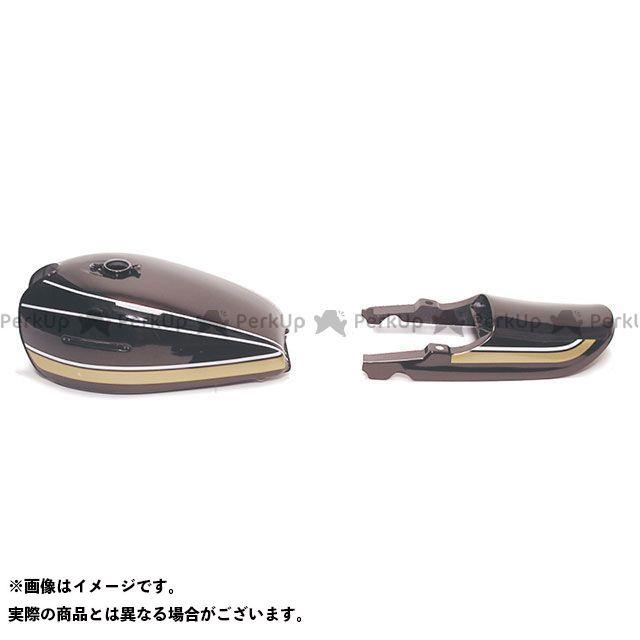 ドレミ Z750フォア RSタイプペイント済みタンクセット A4/A5/four カラー:茶色玉 DOREMI COLLECTION
