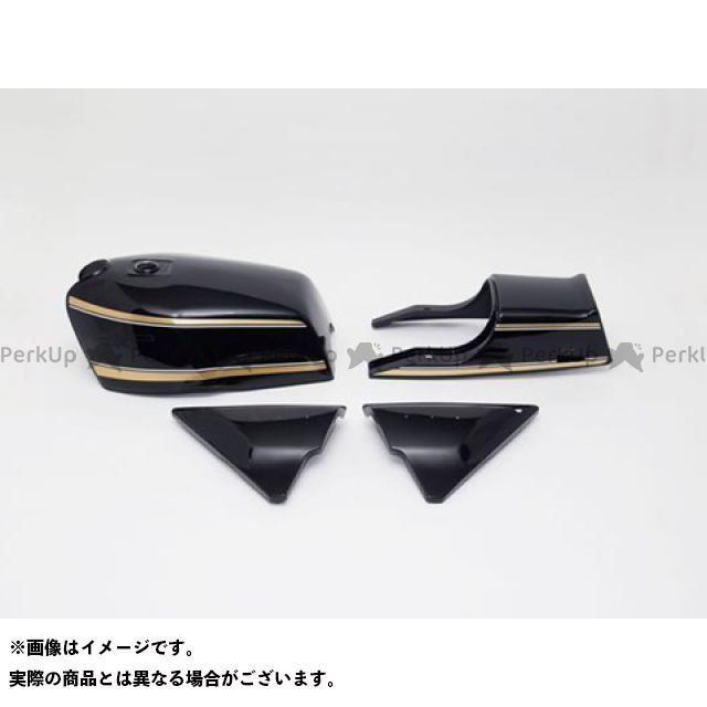 ドレミ DOREMI COLLECTION タンク関連パーツ 外装 ドレミ Z1000MK- タンクセット Hカラー  DOREMI COLLECTION
