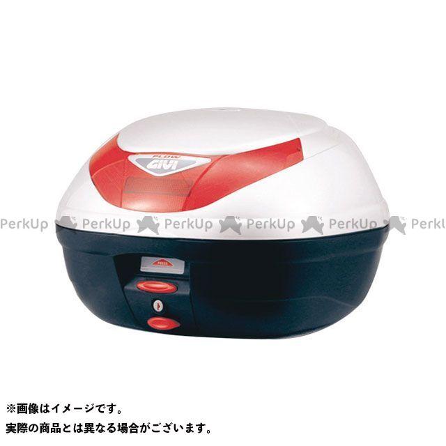 ジビ GIVI モノロックケース FLOWシリーズ(ストップランプ無し) パールホワイト塗装