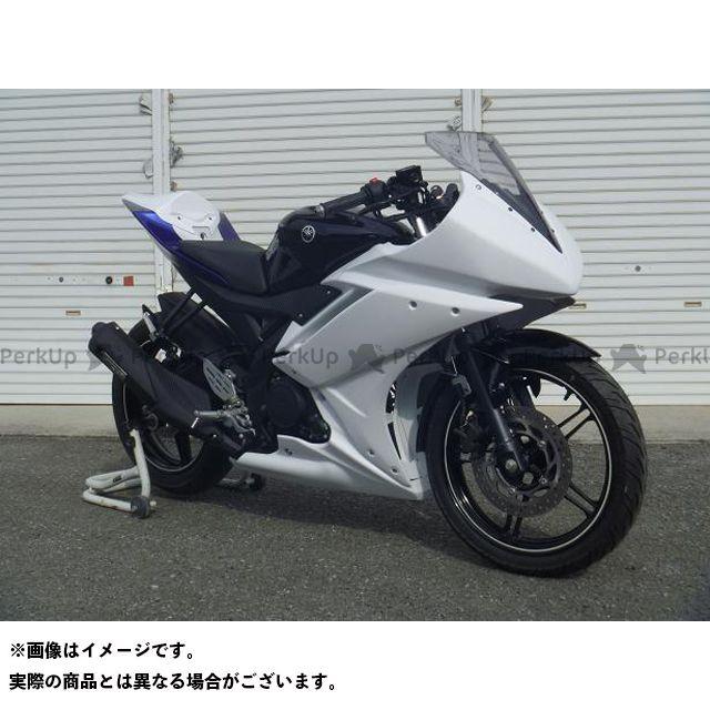 才谷屋 YZF-R15 フルカウル/レース/白ゲル 仕様:ビス止めver 才谷屋ファクトリー