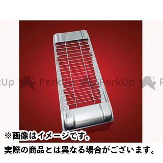 ケンテック VT1300CX ラジエター関連パーツ VT1300CX用 メッキラジエーターカバー