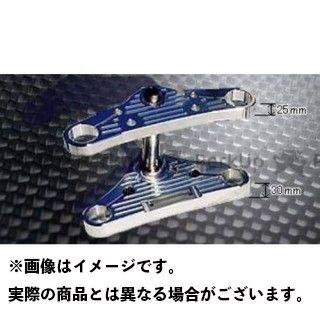 ケンテック ドラッグスター400(DS4) ドラッグスタークラシック400(DSC4) トップブリッジ関連パーツ DS4/DSC4 ハイクオリティートリプル 12度