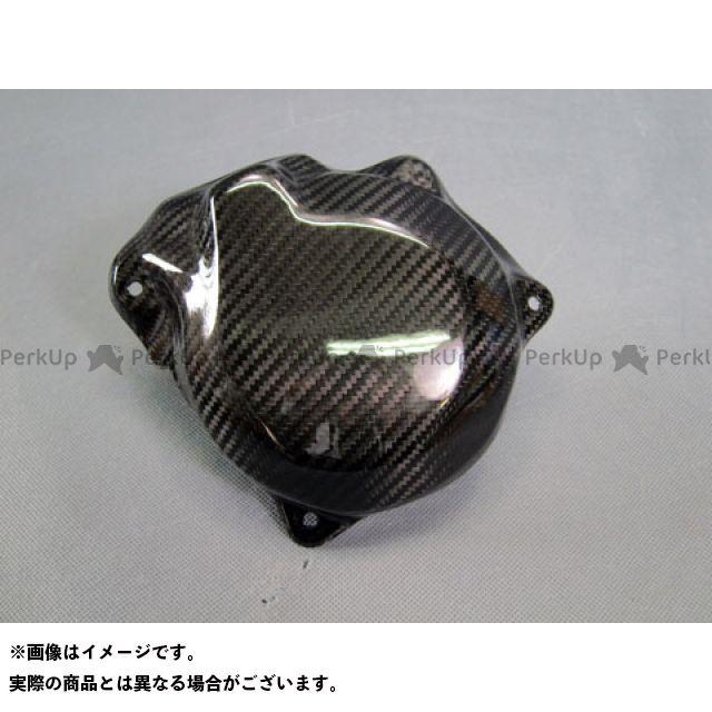 エーテック ニンジャH2 ニンジャH2R エンジンカバー関連パーツ ジェネレーターカバー 平織ドライカーボン
