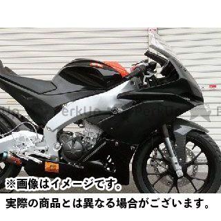 エーテック RS4 125 レース用フルカウル2点セット 材質:FRP/黒 A-TECH