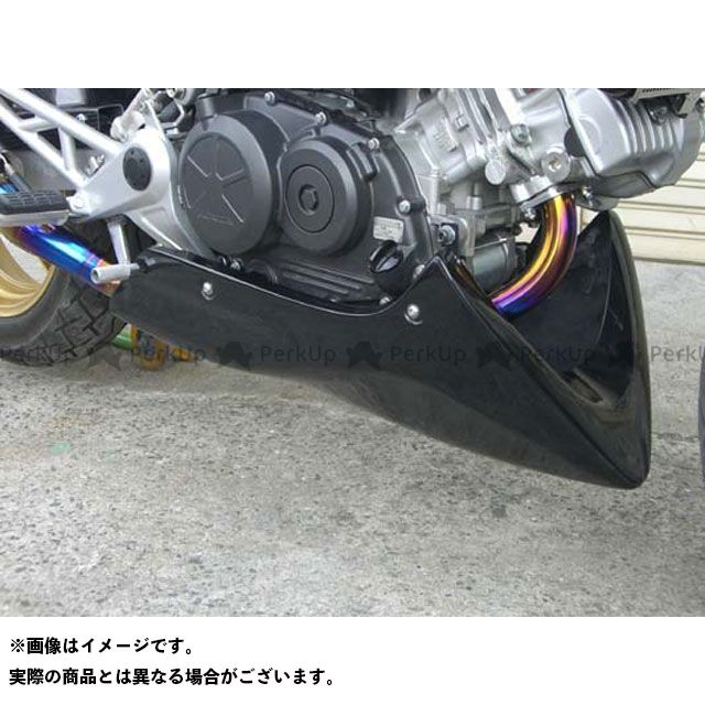エーテック VTR250 アンダーカウル 材質:FRP/黒 A-TECH