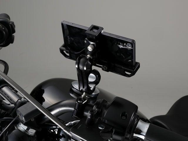 送料無料 SYGNHOUSE サインハウス 電子機器類 マウントシステム ABC-5 M8シリーズABC セット Smart Phone ユニバーサルホルダー タイプ3 φ1inch 限定ブラック Limited商品