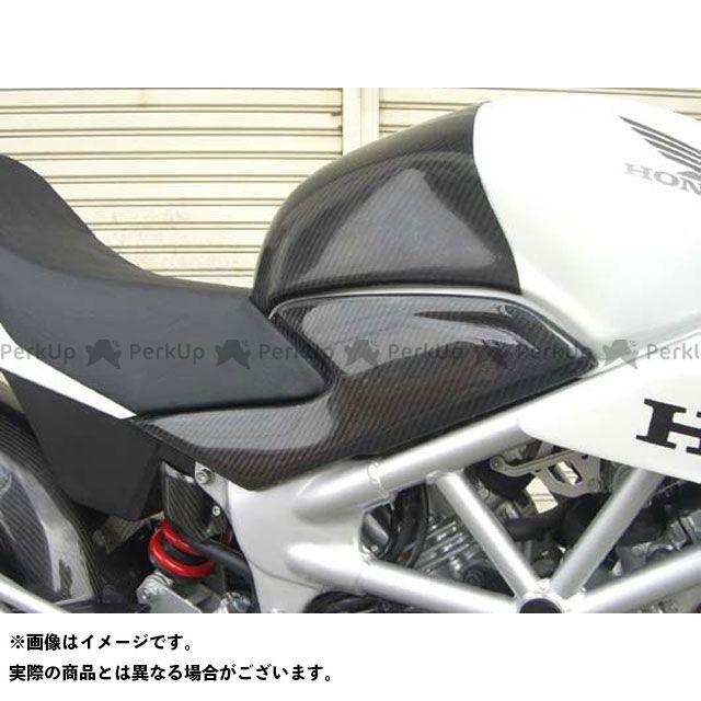 エーテック VTR250 サイドカバーSTD 材質:カーボンケブラー A-TECH