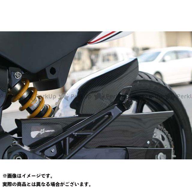 送料無料 エーテック VTR250 フェンダー リアフェンダー 綾織カーボン
