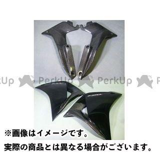 エーテック CBR250R サイドカウルダクト 左右セット 材質:綾織カーボン A-TECH