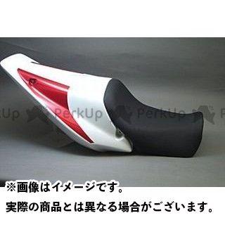 エーテック CB1300スーパーボルドール CB1300スーパーフォア(CB1300SF) シングルシート&着座シート(FRP/白) シートカラー:赤 A-TECH