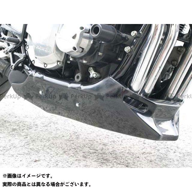 エーテック エックスフォー アンダーカウル 材質:FRP/黒 A-TECH