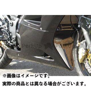 エーテック ニンジャ250R アンダーカウルSPL 材質:FRP/黒 A-TECH