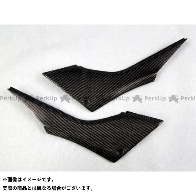 エーテック ニンジャ250 サイドカバー 左右セット 材質:綾織カーボン A-TECH