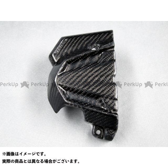 エーテック ニンジャ250 フロントスプロケットカバー 綾織カーボン A-TECH