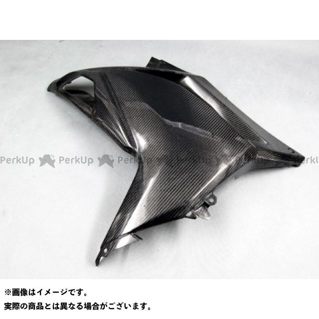 エーテック ニンジャ250 ストリート用サイドカウルSPL 左右セット 材質:FRP/黒 A-TECH